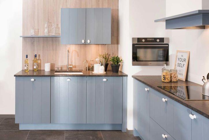 Keukenblad outlet free op een handige manier verwerkt in for Aanrechtblad karwei