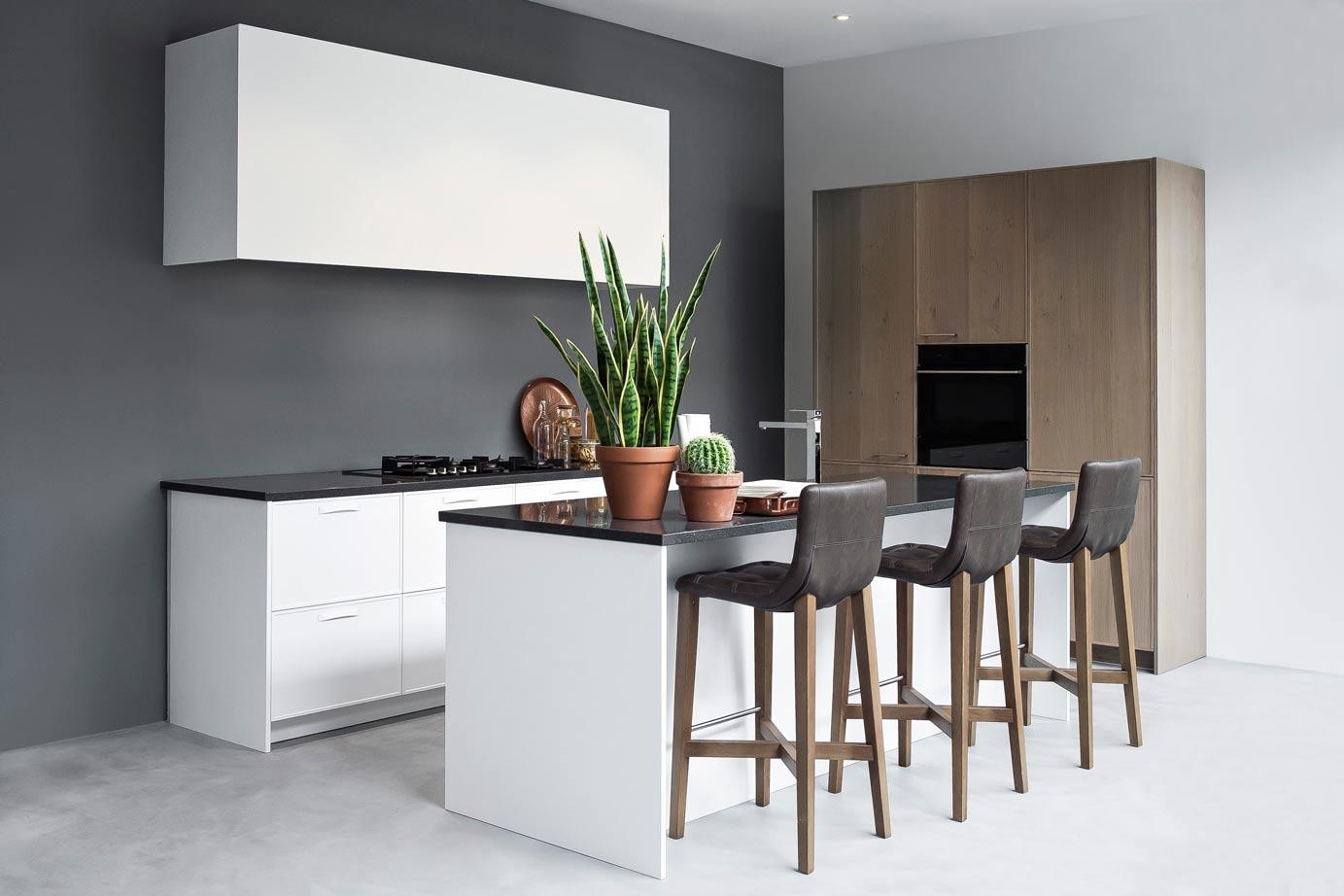 Luxe Keukenmerken : Witte keukens: laat u informeren en inspireren, m?t vele voorbeelden