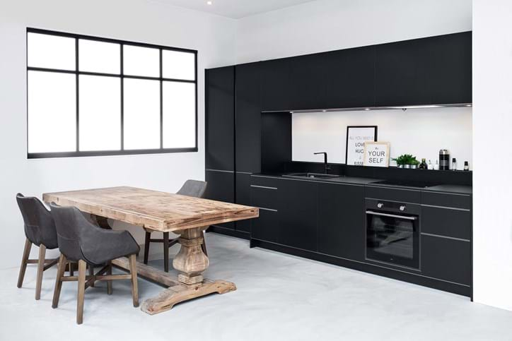 Zwarte Keuken Ideeen : Keuken kleuren: ieder kleur mogelijk. bekijk voorbeelden. ardi