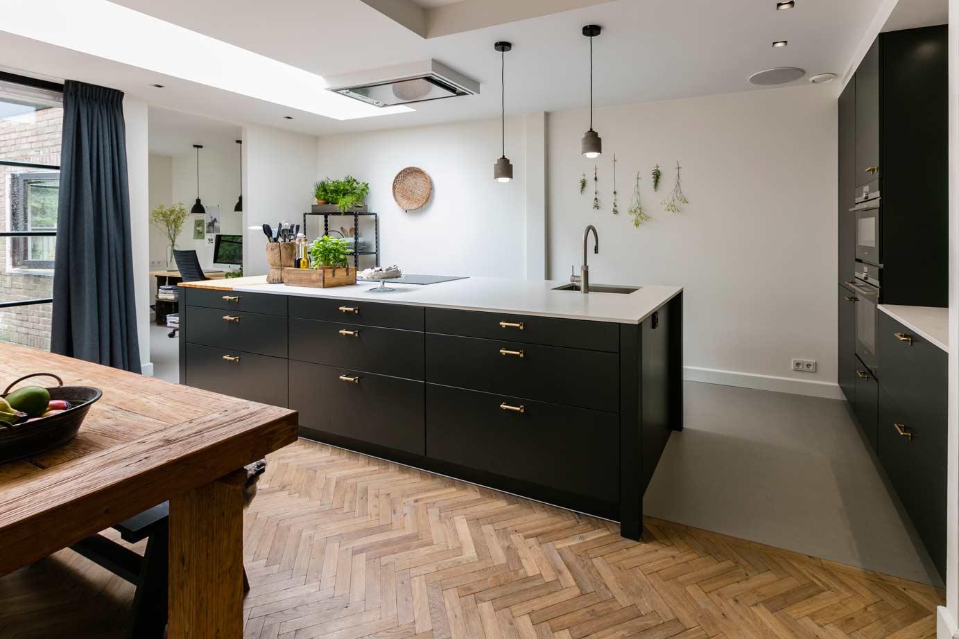 Eiland Keuken Zwart : Keuken kleuren ieder kleur mogelijk bekijk voorbeelden ardi